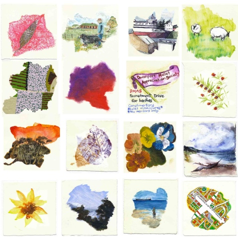 local colour - splodge cards (grid)